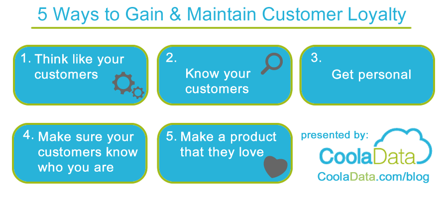 5 tips - Gaining Customer Loyalty