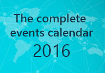 Big Data Analytics BI events calendar 2016